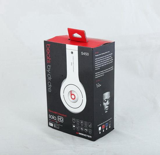 Beats Solo HD Bluetooth S450 White Black Red - Sound Beats 3c1068e09e6ef